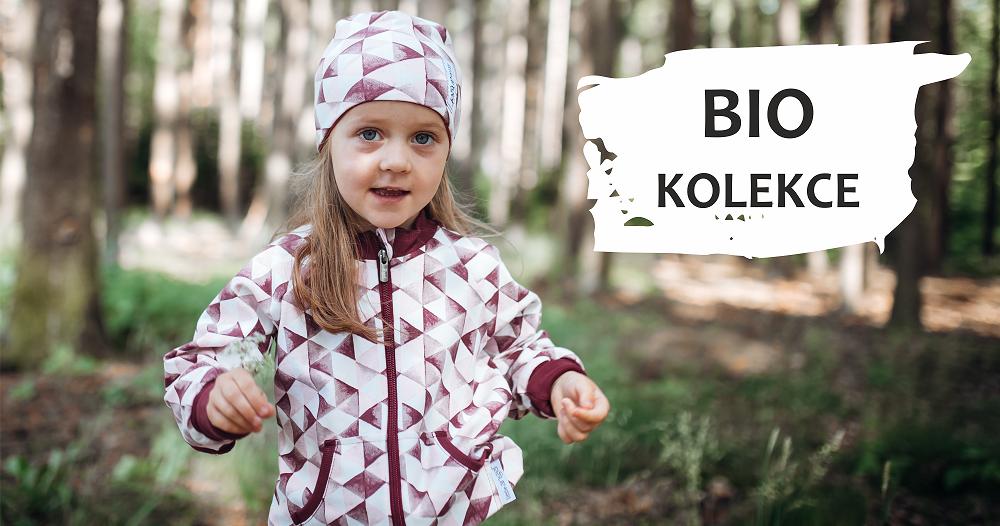 Kolekce Bio s vysokým podílem bavlny.