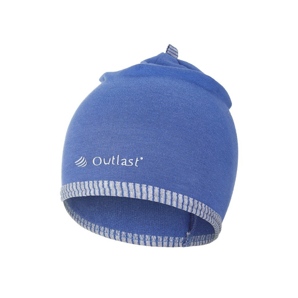 Mütze gesäumt Outlast® - indigo (Größe 1 | 36-38 cm)