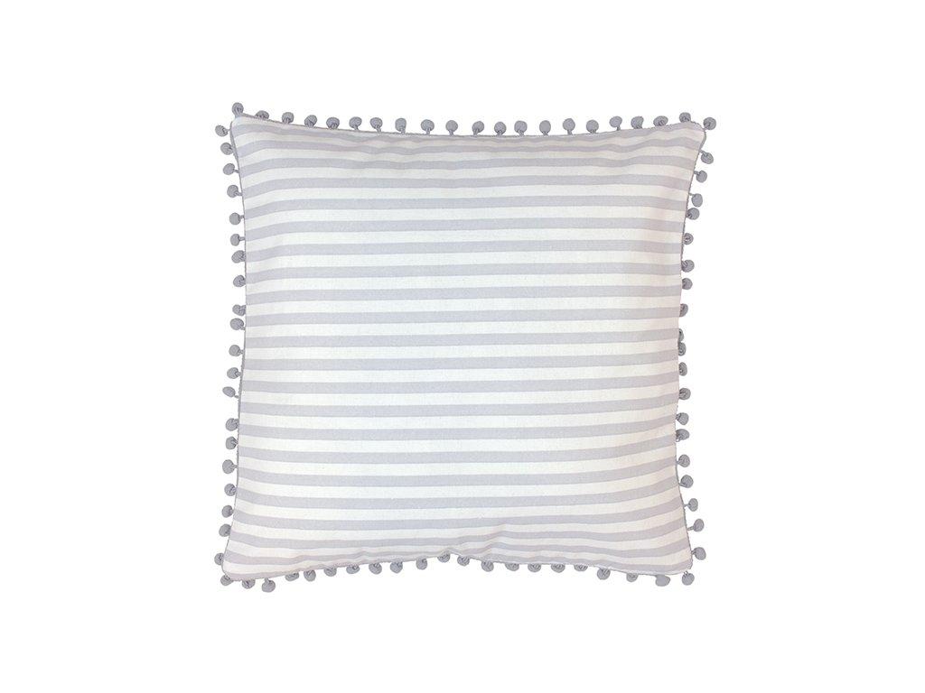 Povlak na polštářek JaBaDaBaDo grey