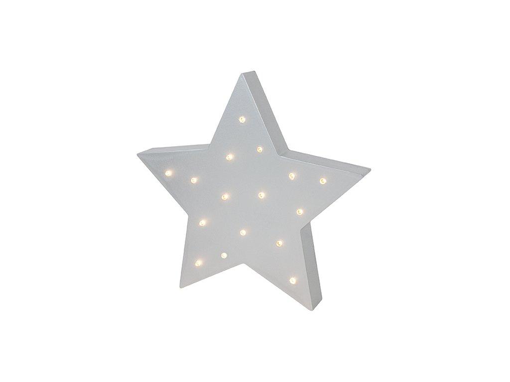 Led lampa JaBaDaBaDo hvězda