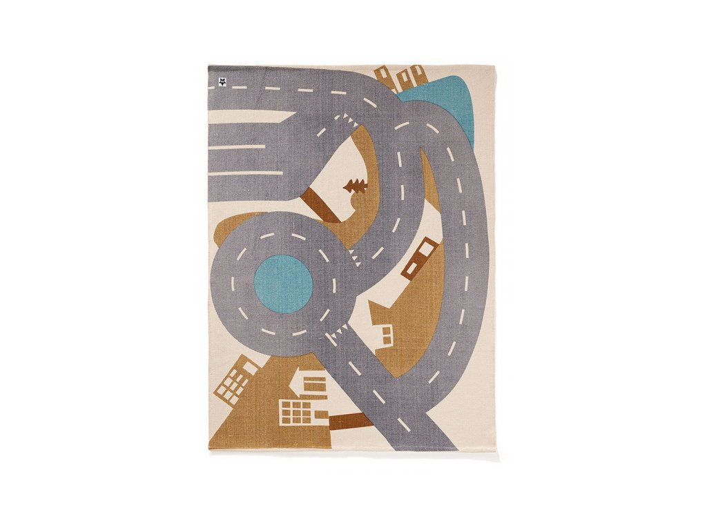 Koberec Kids Concept město Aiden 130x170 cm