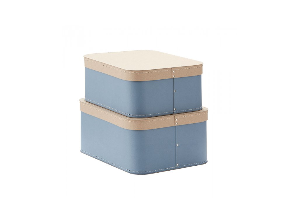 Kids Concept Krabice 2 ks Blue