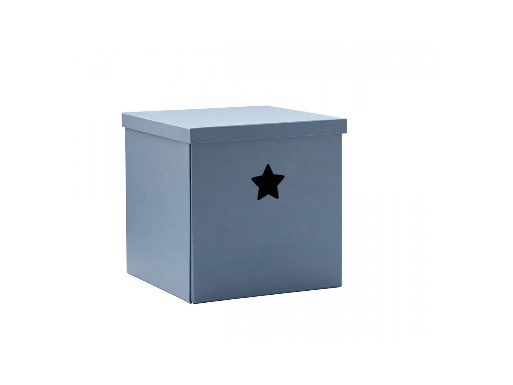 Kids Concept Krabice Star Blue