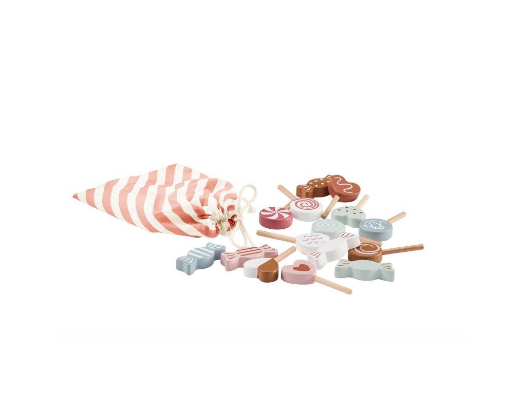 Bonbony kids Concept dřevěné v sáčku Bistro