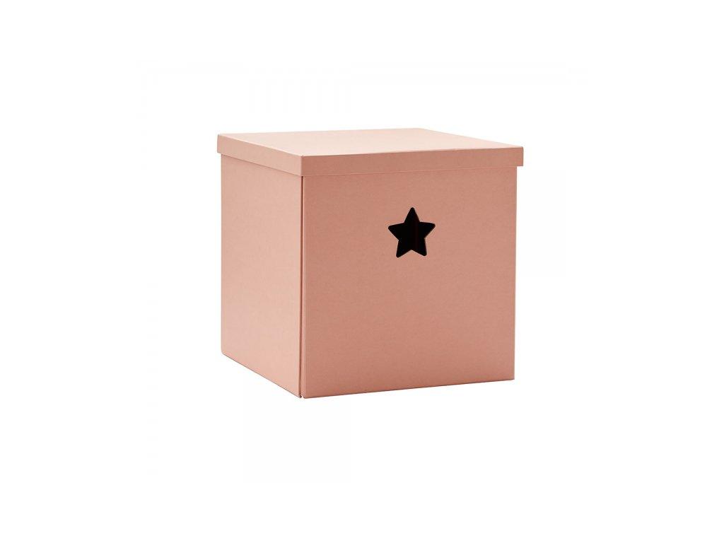 Krabice Kids Concept Star Pink