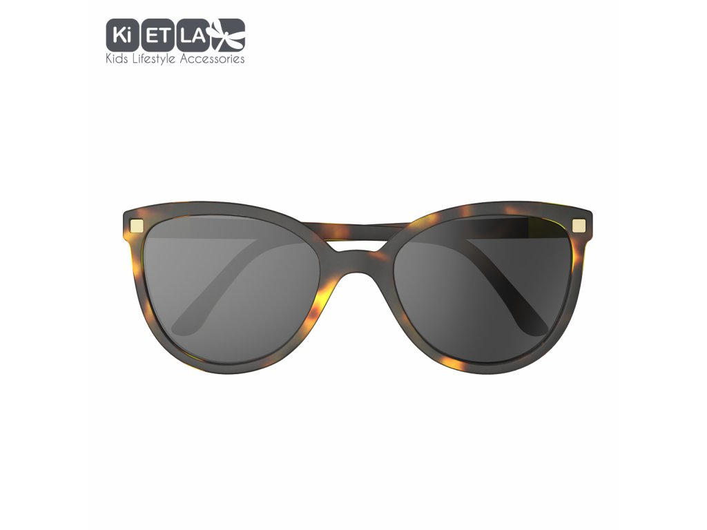 Sluneční brýle KiETLA CraZyg-Zag 6-9 let BuZZ hnědé