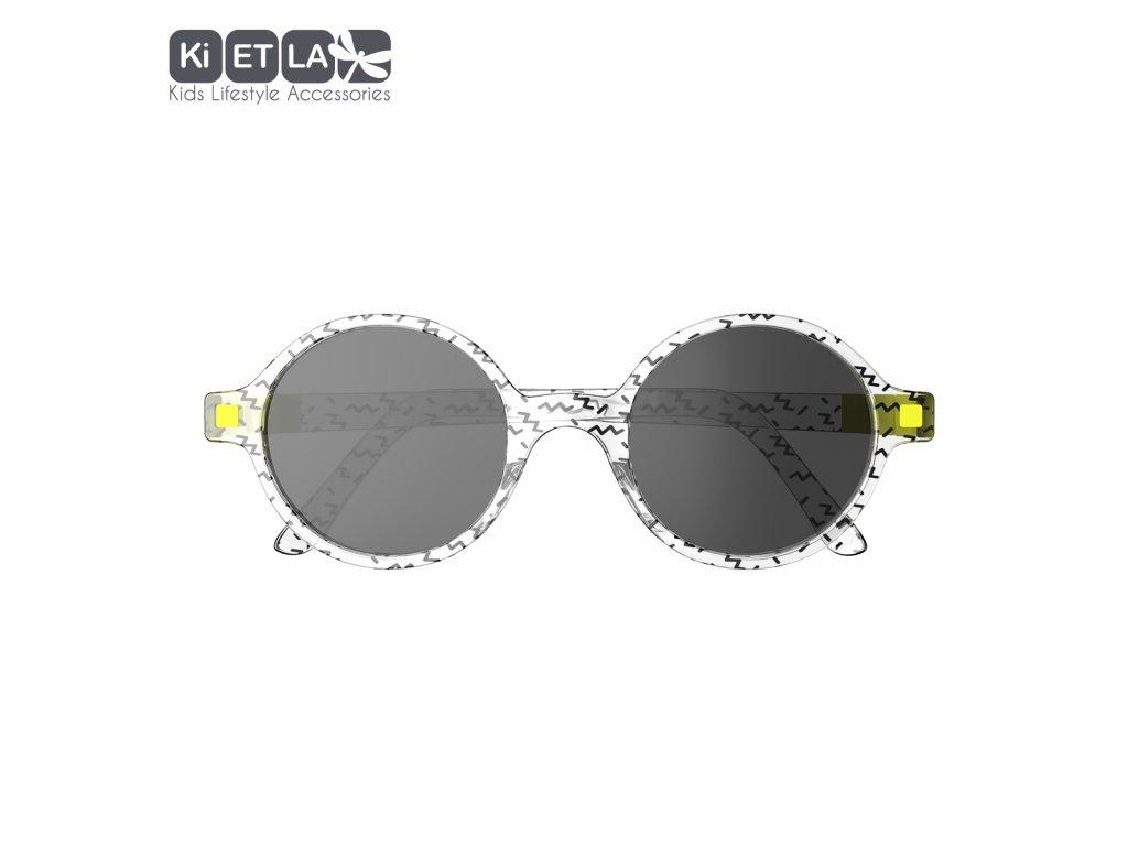 Sluneční brýle KiETLA CraZyg-Zag 6-9 let Rozz zygzag
