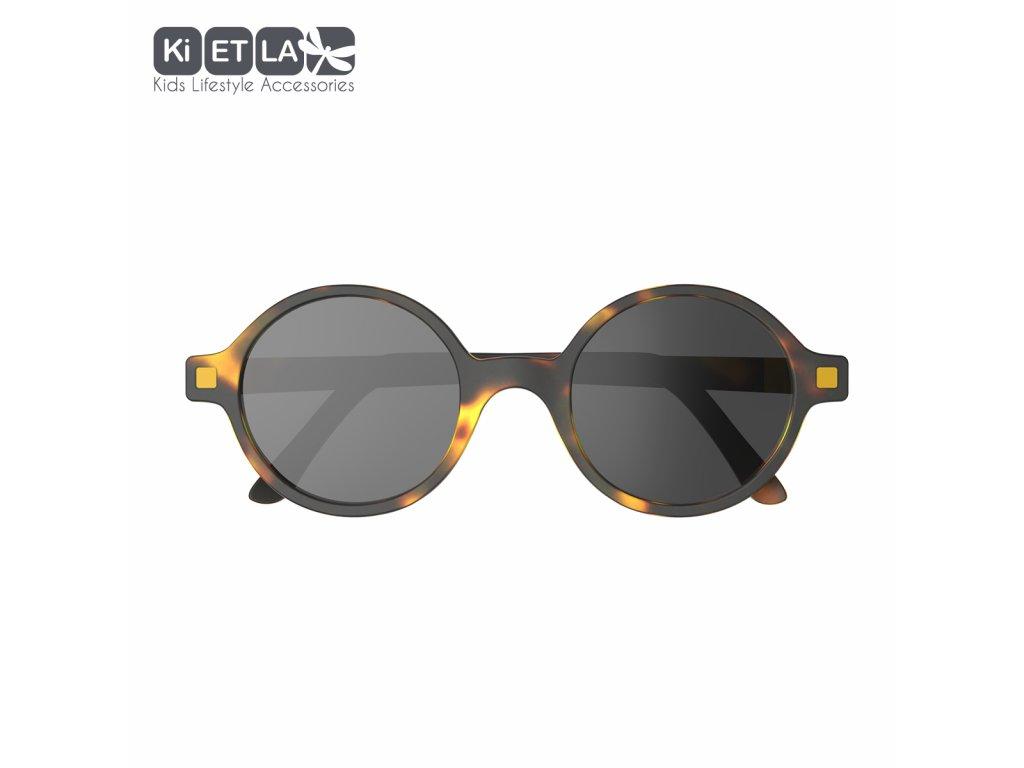 Sluneční brýle KiETLA CraZyg-Zag 6-9 let Rozz hnědé
