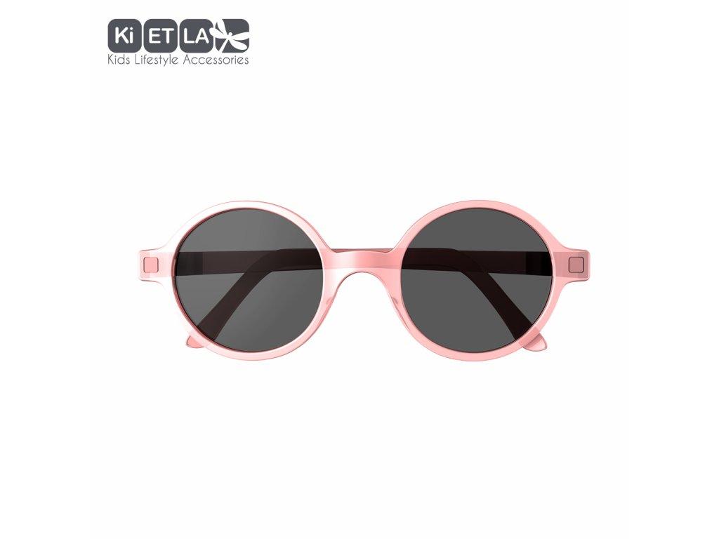 Sluneční brýle KiETLA CraZyg-Zag 6-9 let Rozz růžové