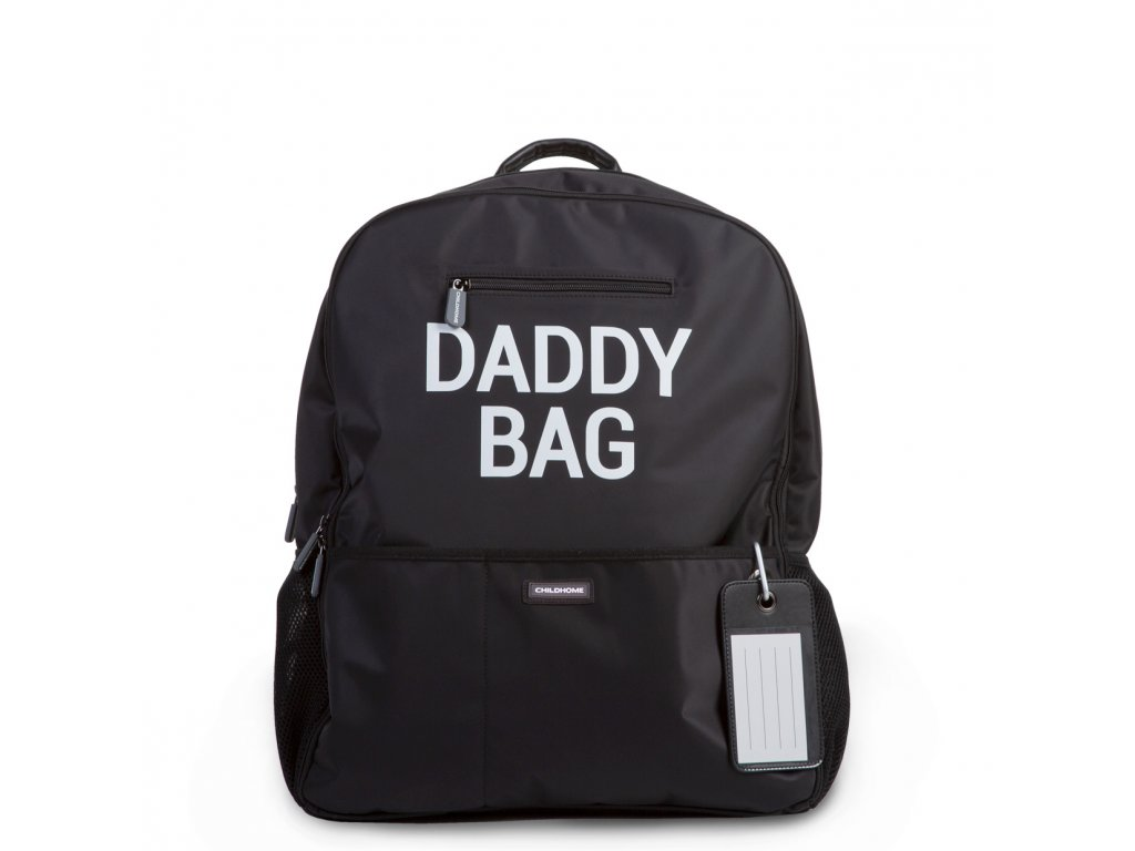 Childhome Přebalovací batoh Daddy Bag Black