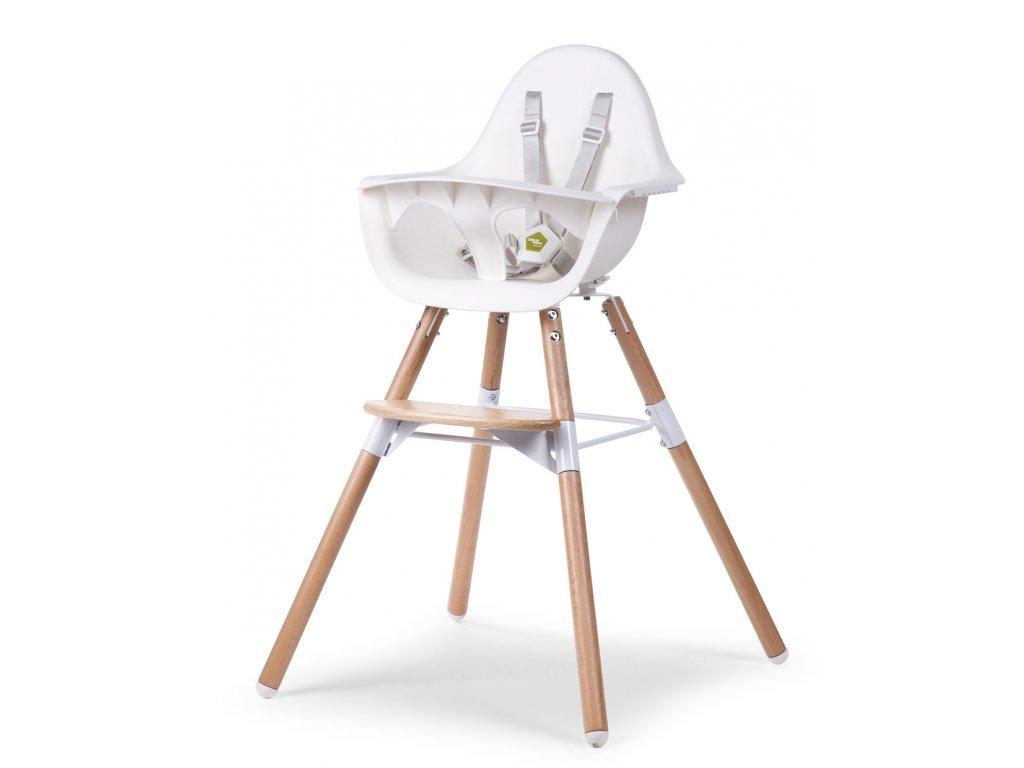 Židlička Childhome 2v1 Evolu 2 Natural / White
