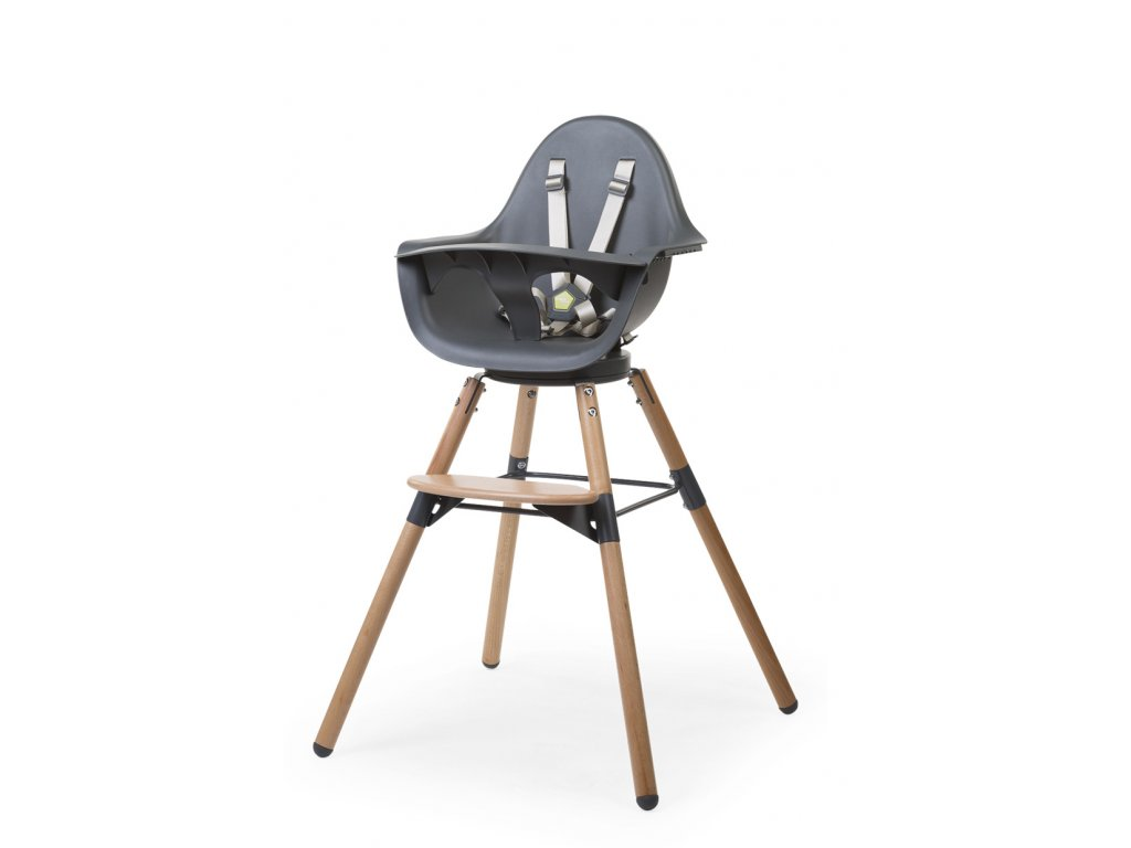 Židlička Childhome 2v1 Evolu ONE.80° Natural / Anthracite