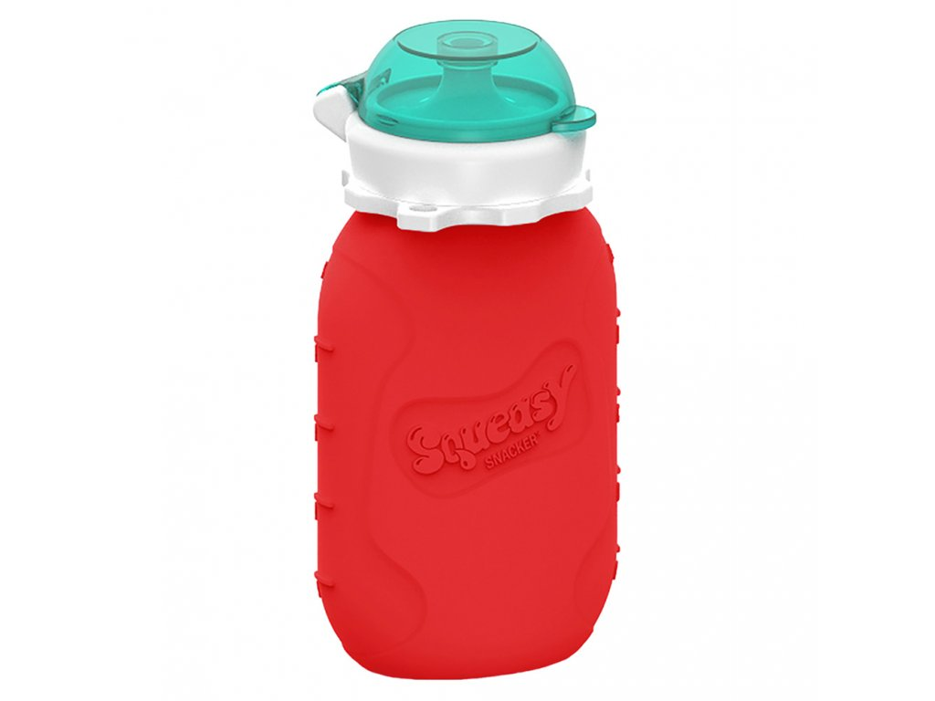 Squeasy Gear kapsicka 180ml Cervena