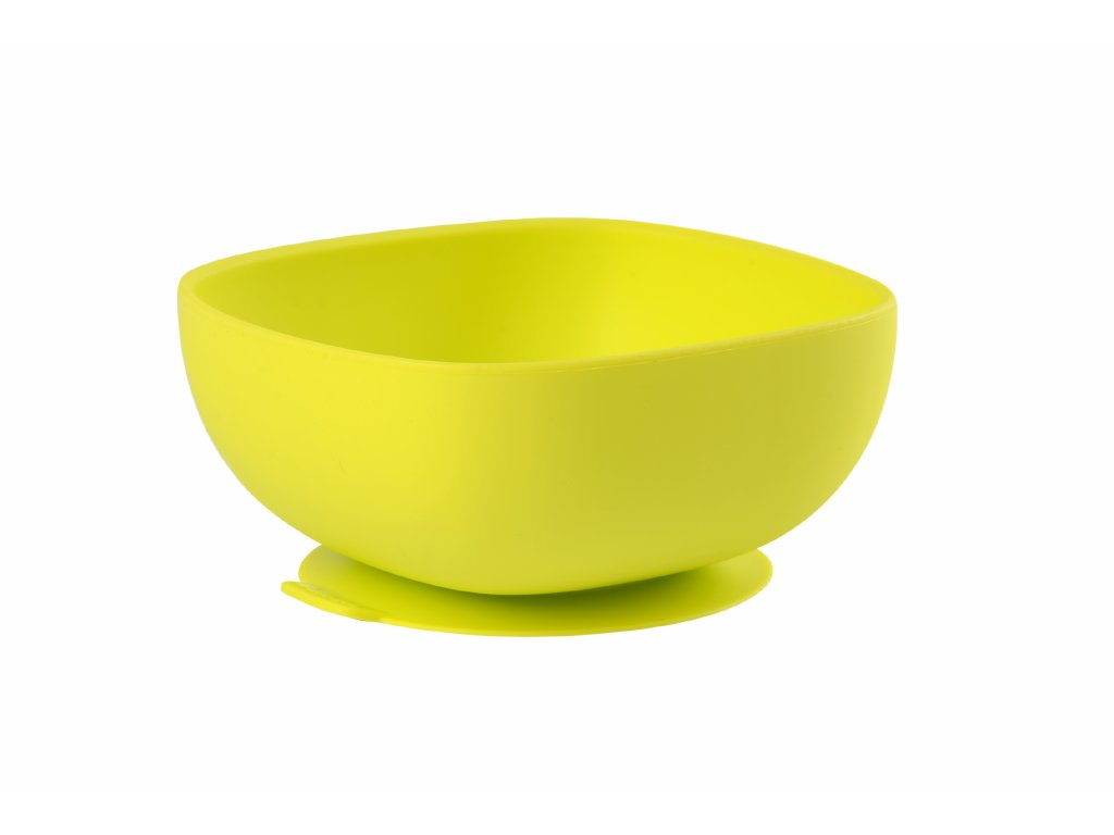 Beaba Miska silikonová s přísavkou Green