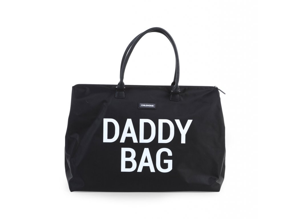 Childhome Přebalovací taška Daddy Bag Big Black