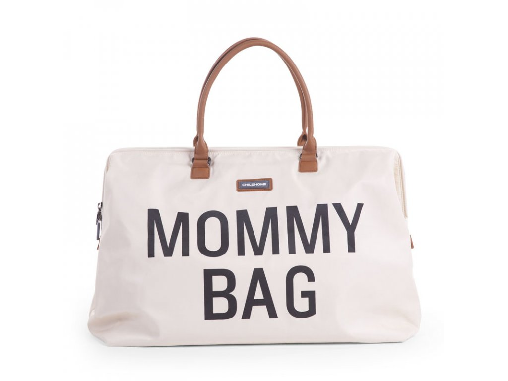 Childhome Přebalovací taška Mommy Bag Off White