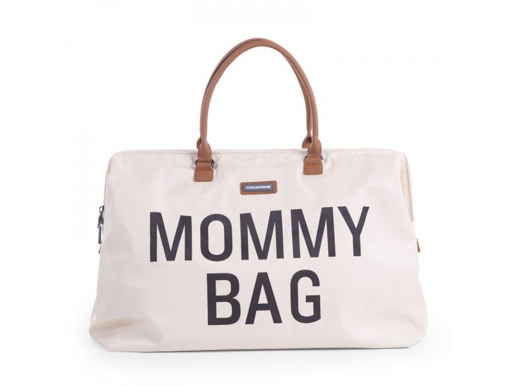 Přebalovací taška Childhome Mommy Bag Off White