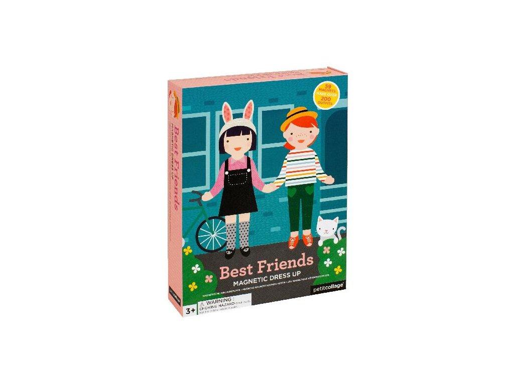 Petitcollage magnetické puzzle - Nejlepší kamarádky
