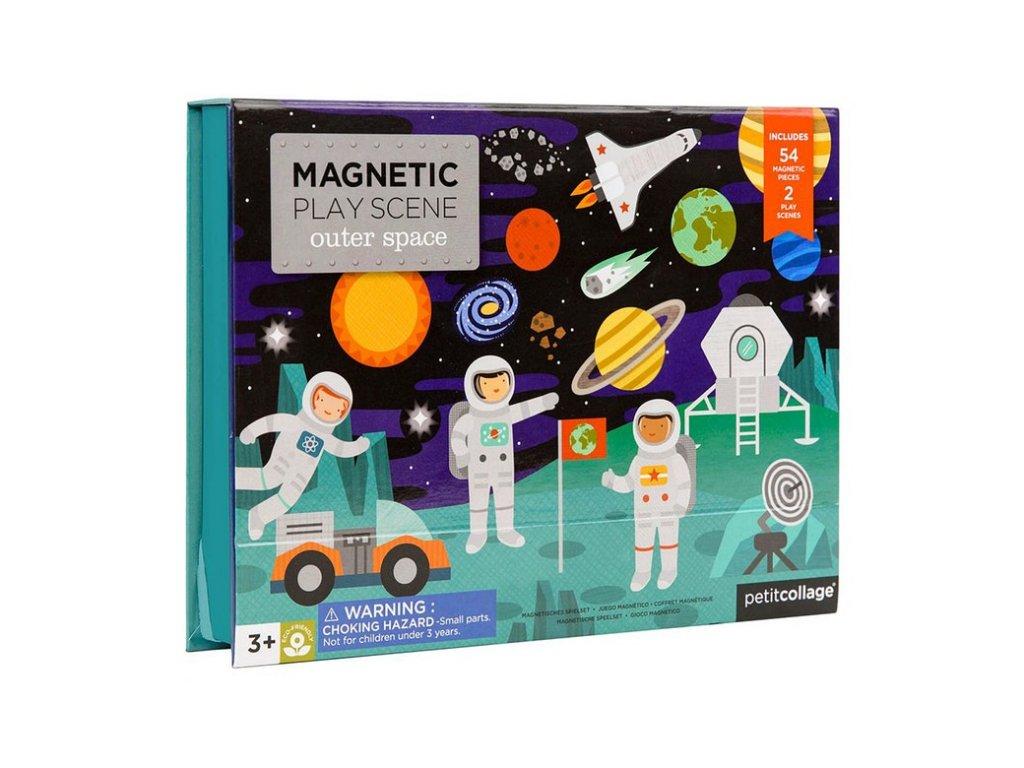 Petitcollage Magnetické divadlo vesmír