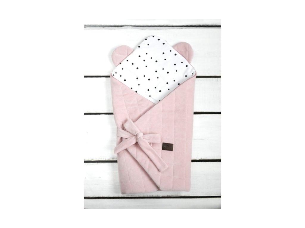Sleepee Zavinovačka Royal Baby růžová