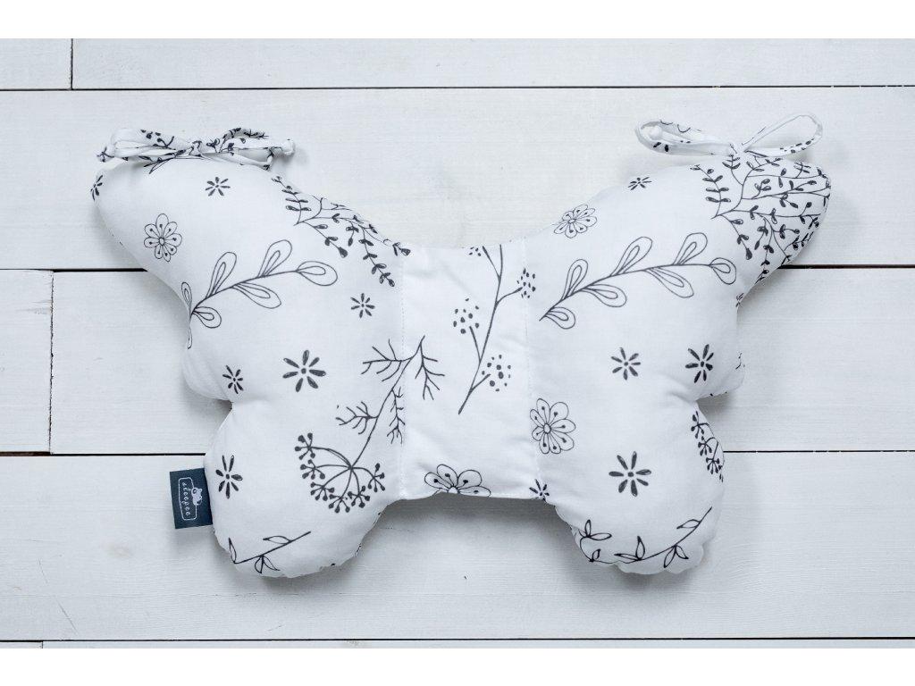 Sleepee Stabilizační polštářek Butterfly pillow luční kvítí