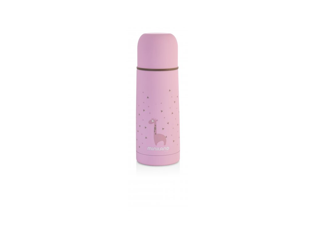 Miniland Termoska Silky Pink 350ml