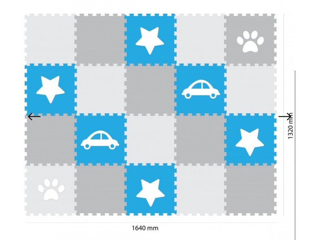 Screenshot 2019 09 17 Minideckfloor podlaha 20 dílů auto, hvězda, tlapka Pěnové hračky