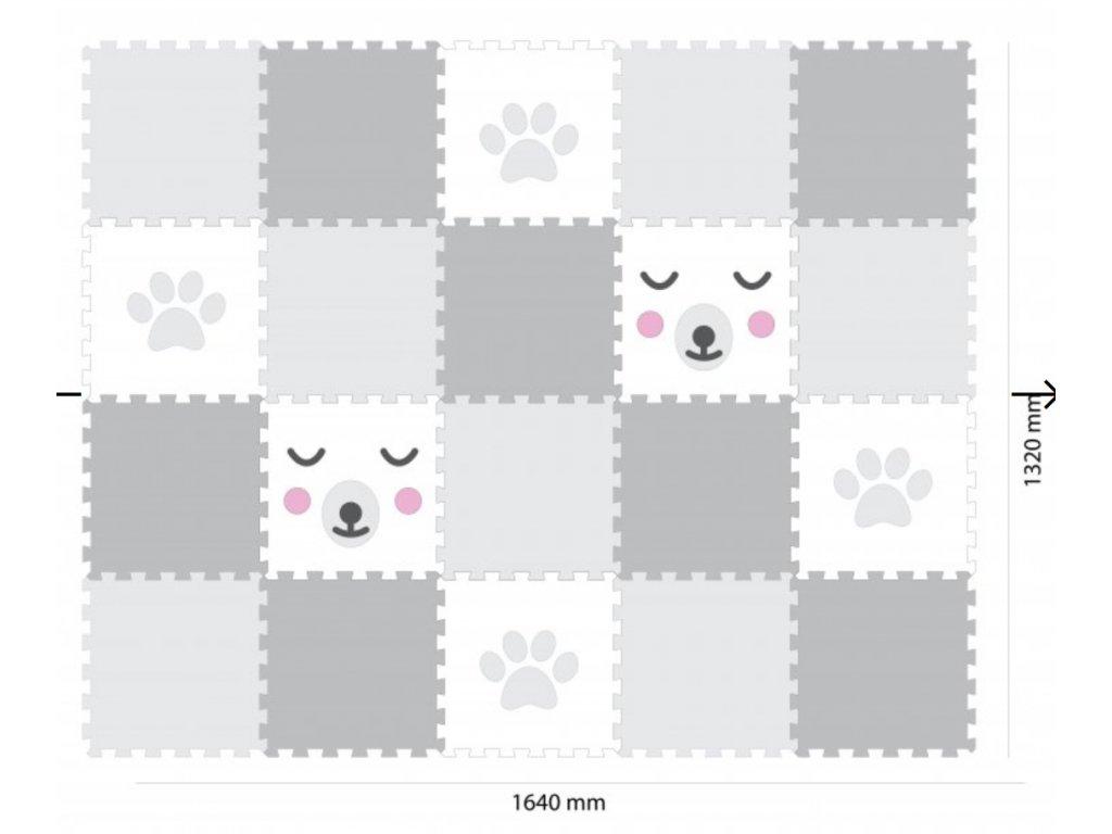 Screenshot 2019 09 17 Minideckfloor podlaha 20 dílů tlapka a medvěd Pěnové hračky