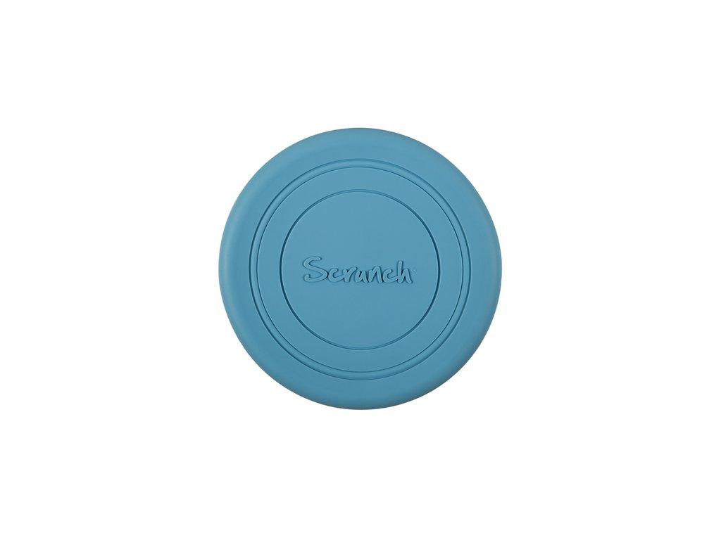 Scrunch Frisbee modrá twilight
