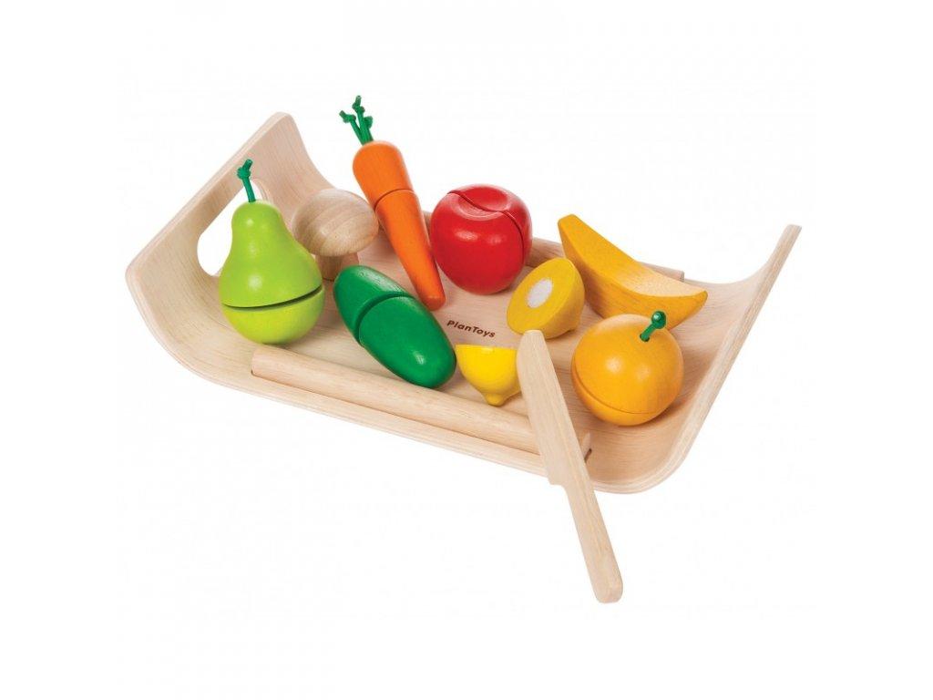 Ovoce a zelenina PLAN TOYS
