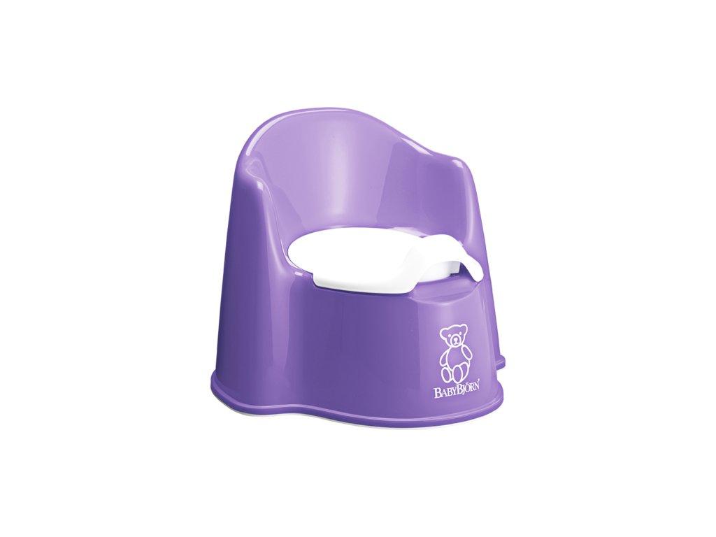 Nočník  BabyBjörn křesílko Potty Chair Purple