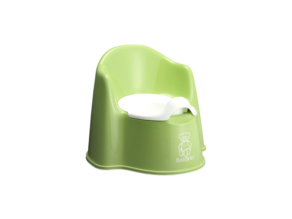 Nočník BabyBjörn křesílko Potty Chair Spring Green
