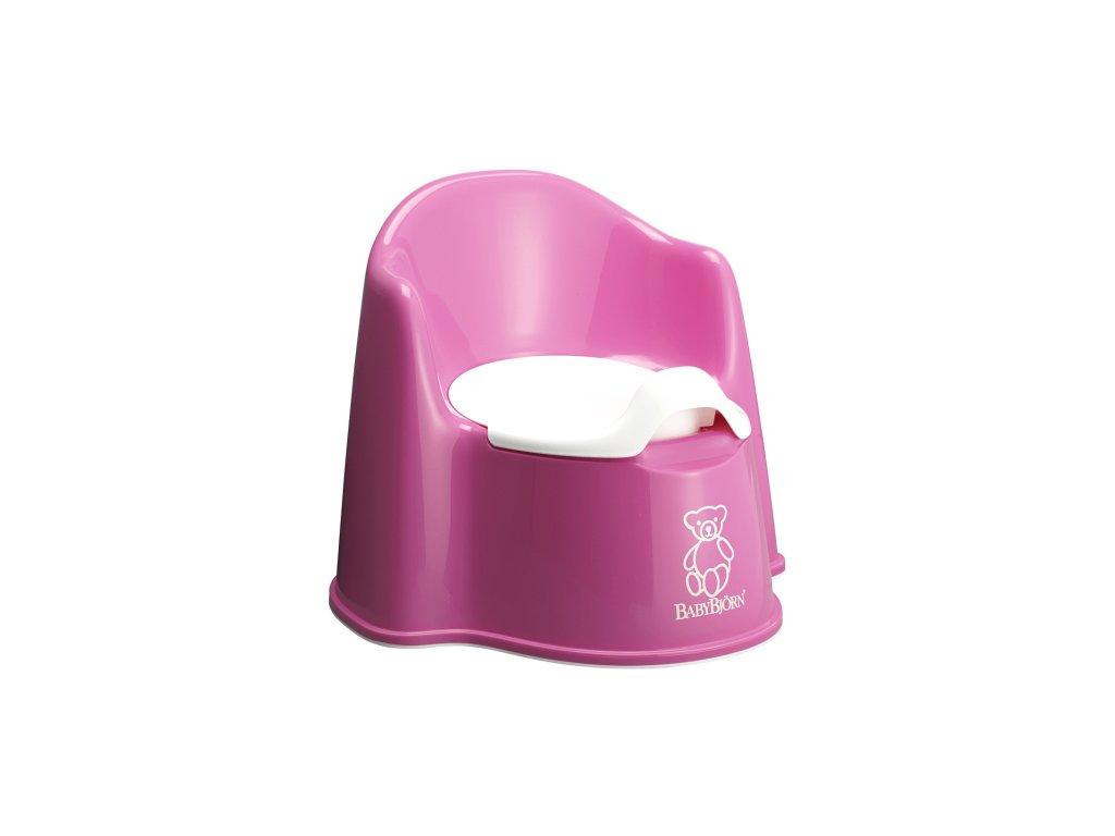 Nočník BabyBjörn křesílko Potty Chair Pink
