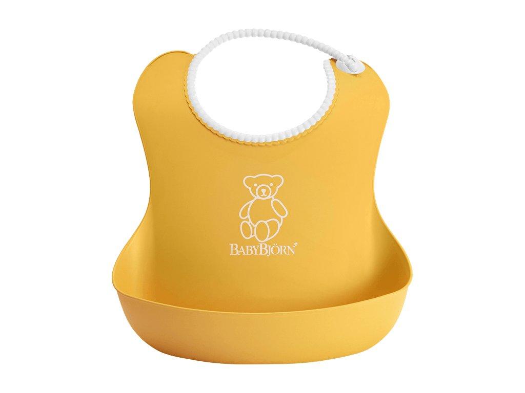 Bryndák BabyBjörn měkký Soft Yellow
