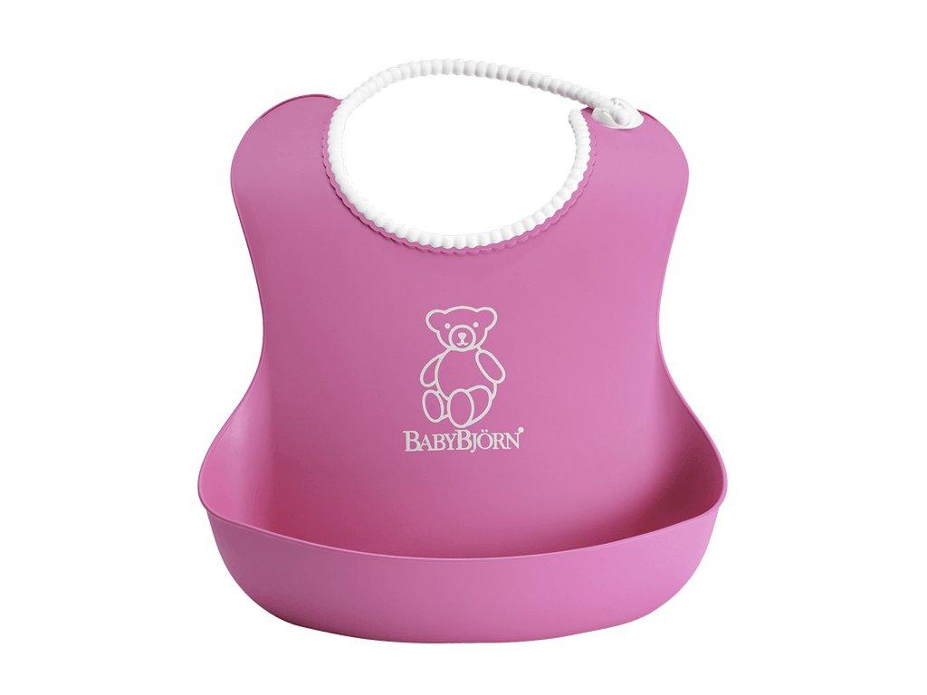 Bryndák BabyBjörn měkký Soft Pink