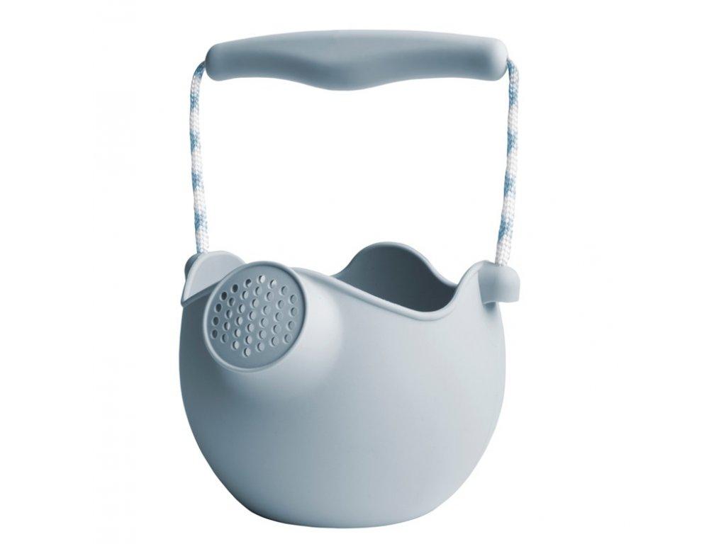Scrunch silikonová konvička světle šedá