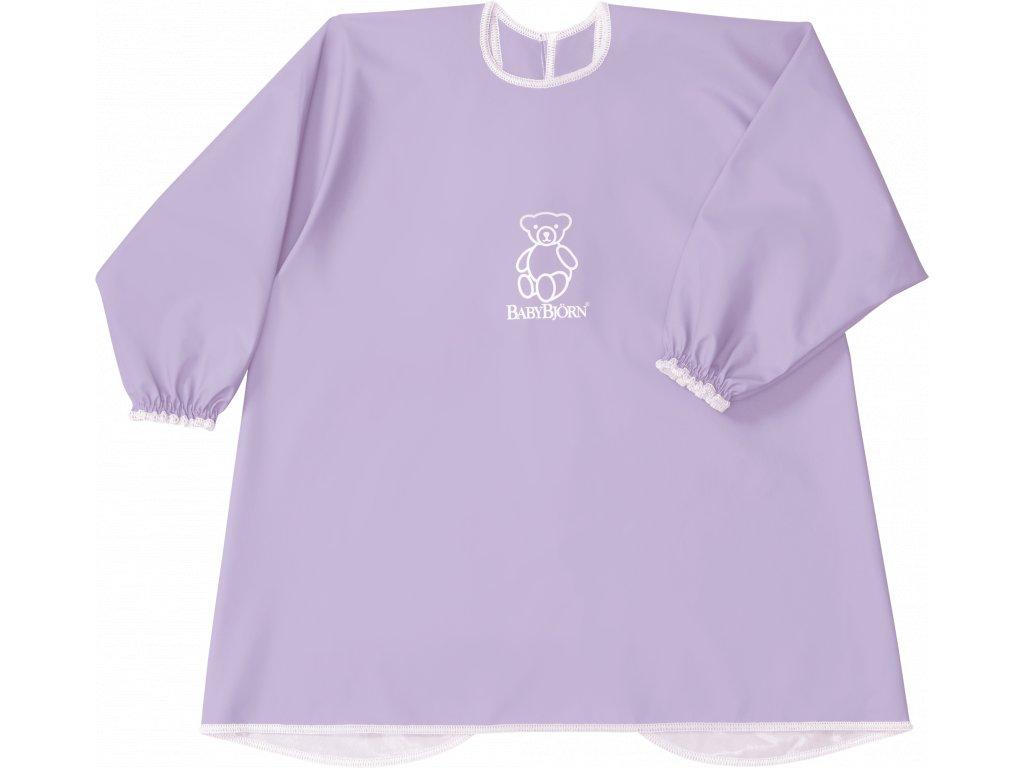 Zástěrka BabyBjörn na krmení a hraní Smock Purple
