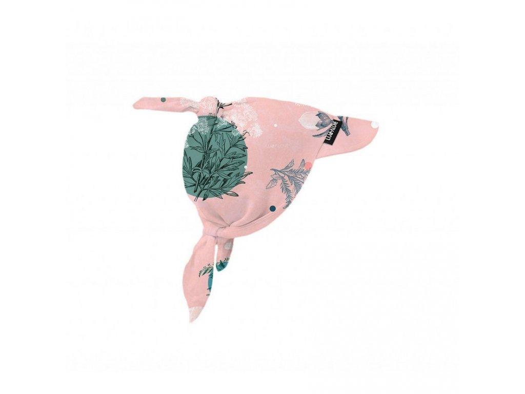 Bavlněný šátek na hlavu Rose Garden
