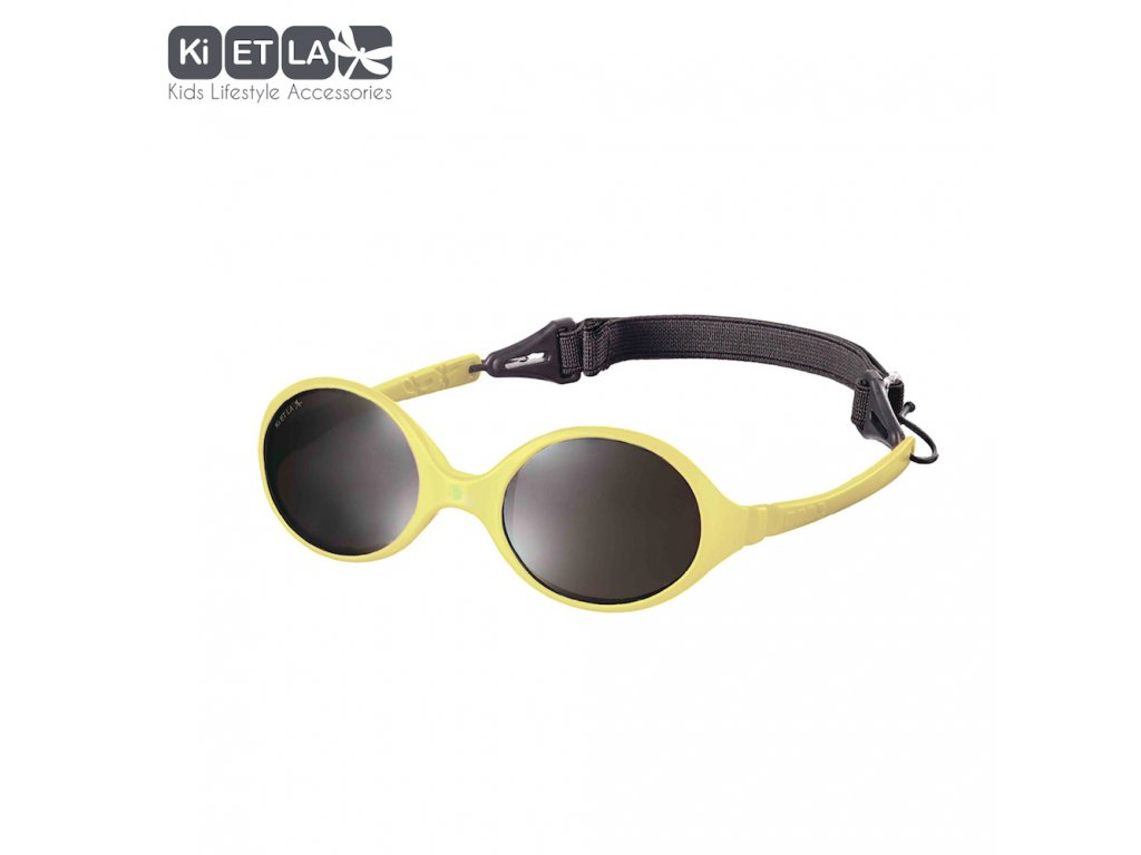 Dětské sluneční brýle KiETLA Diabola 0-18 měsiců žluté