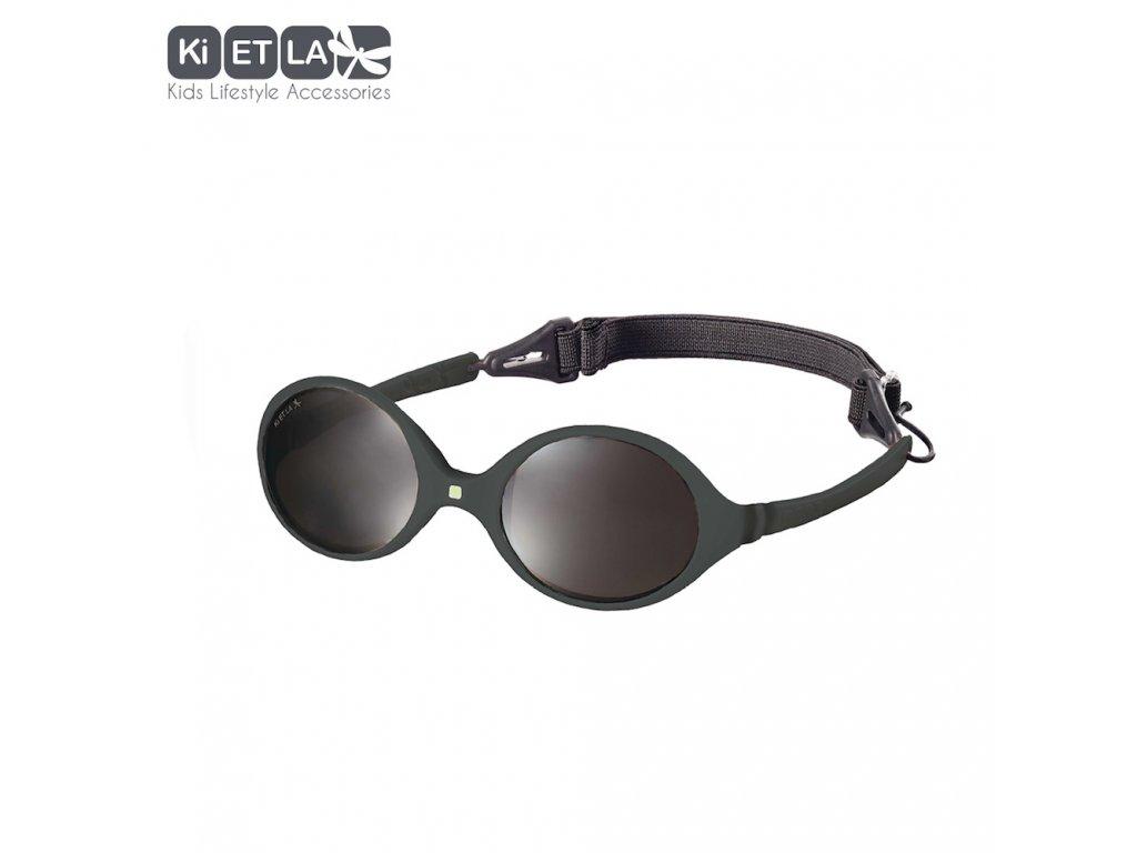 Dětské sluneční brýle KiETLA Diabola 0-18 měsiců tmavě šedé