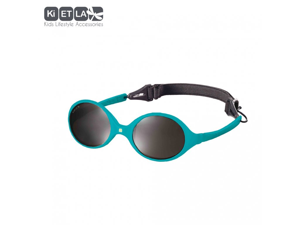Dětské sluneční brýle KiETLA Diabola 0-18 měsiců Peacock Blue