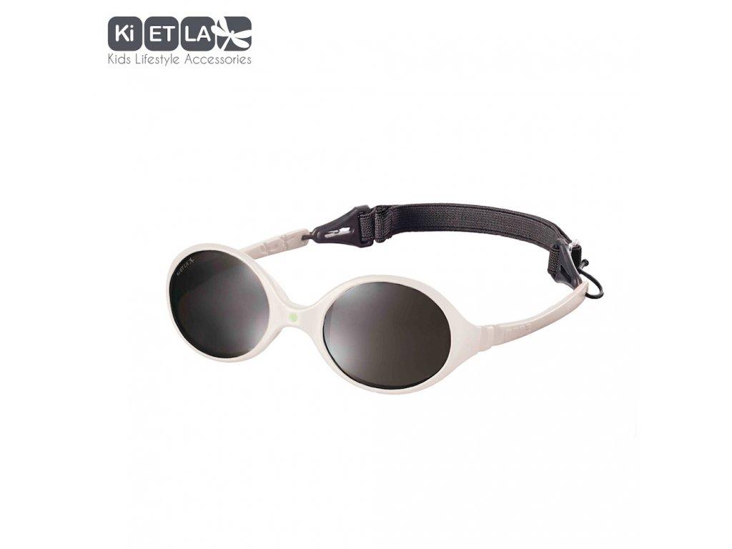 Dětské sluneční brýle KiETLA Diabola 0-18 měsiců Cream