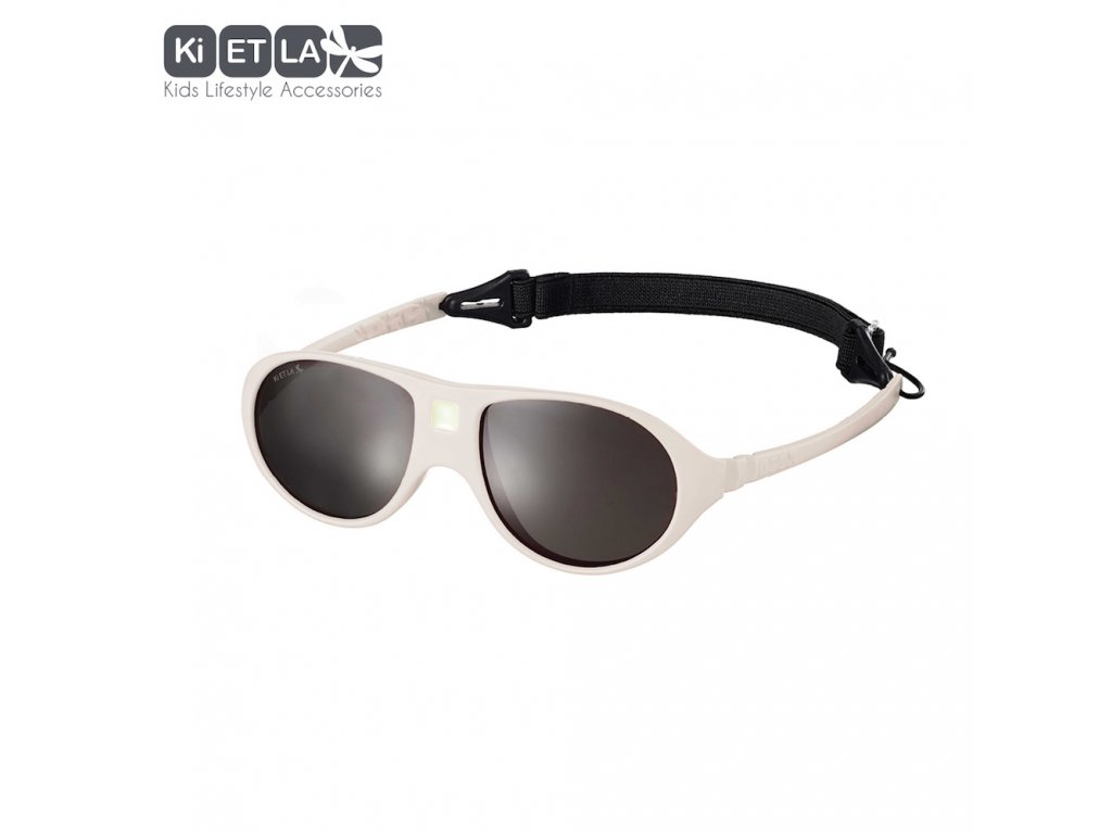 Dětské sluneční brýle KiETLA JokaLa 2-4 roky Cream