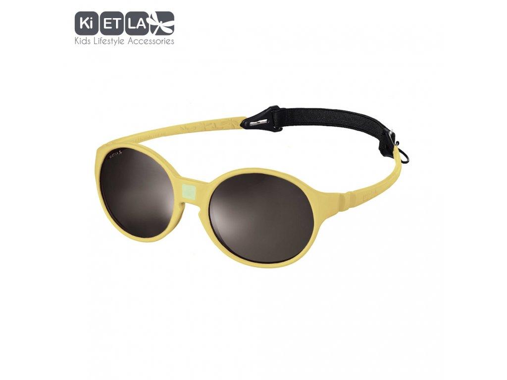 Dětské sluneční brýle KiETLA JokaKid's 4-6 let Yellow