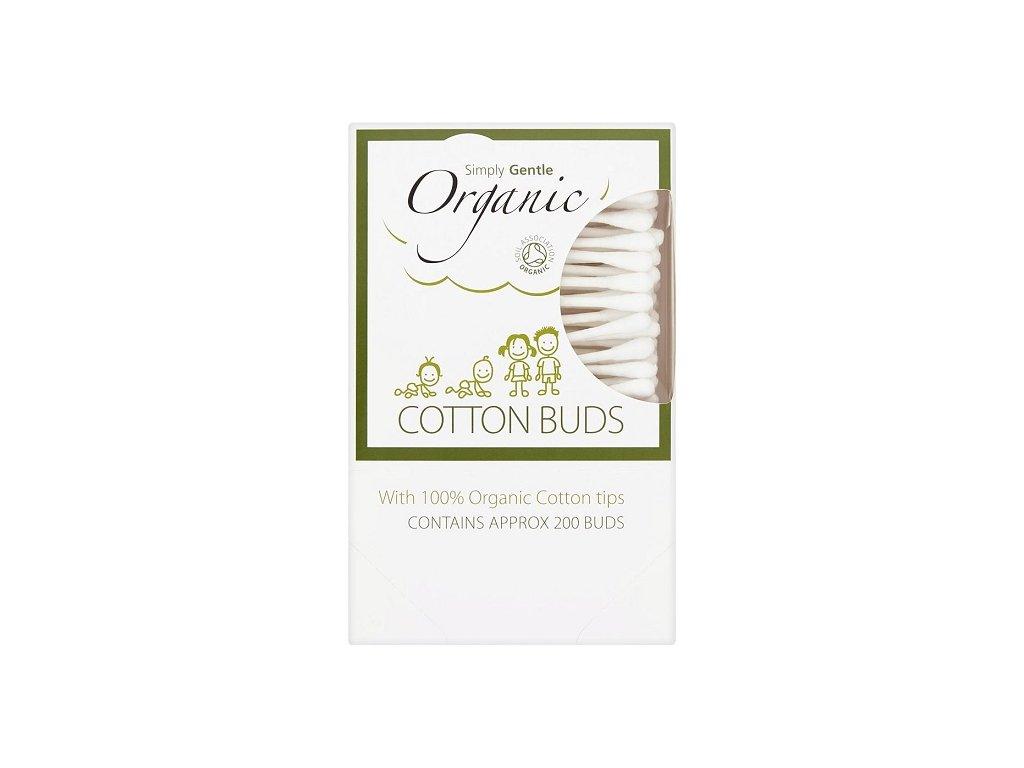 Organické vatové tyčinky Simply Gentle