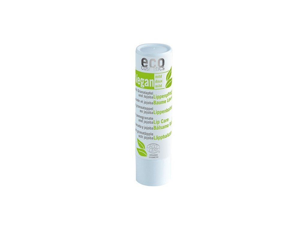 Balzám na rty Eco Cosmetics BIO s granátovým jablkem (4 g)