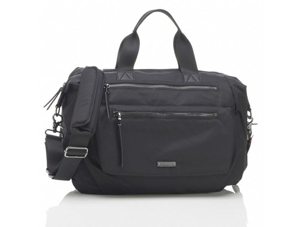 Přebalovací taška Storksak Seren Black