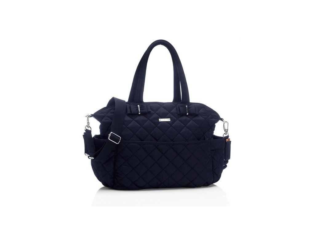 Přebalovací taška Storksak Bobby modrá