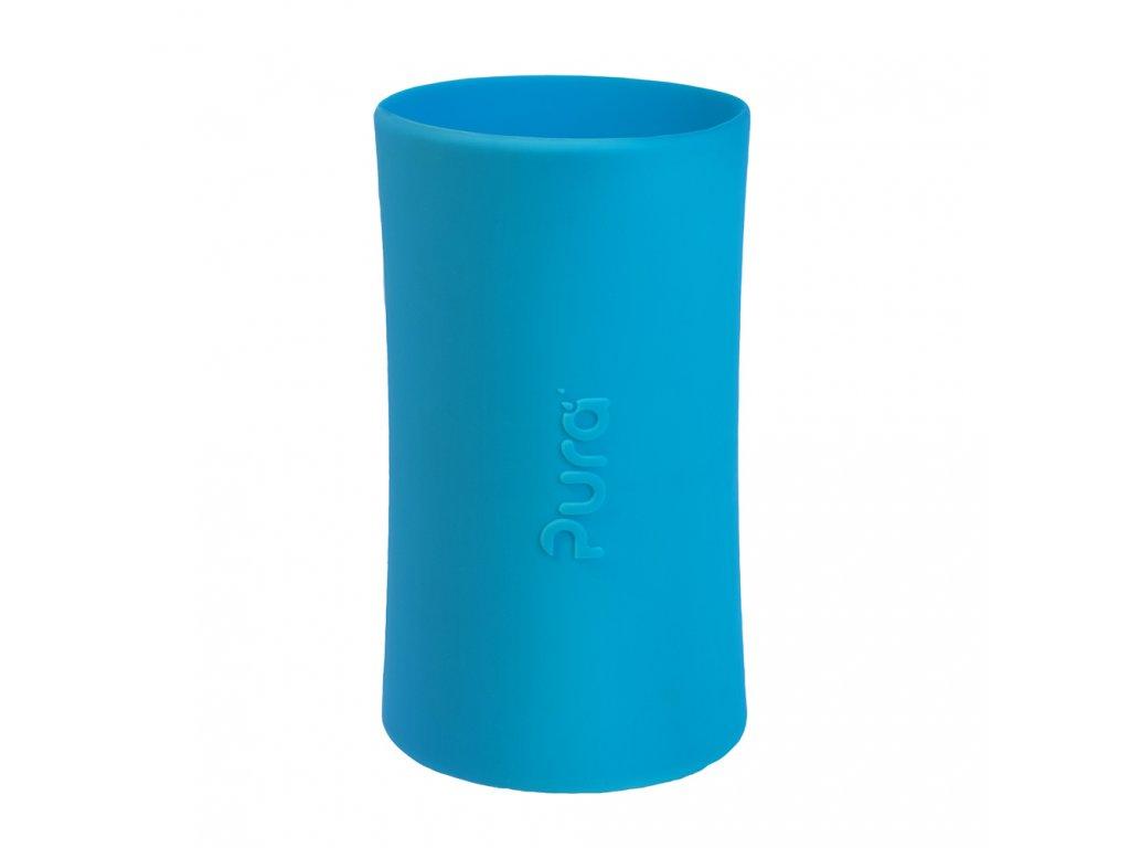 Silikonový návlek na Pura® láhev 260ml a 325ml modrý