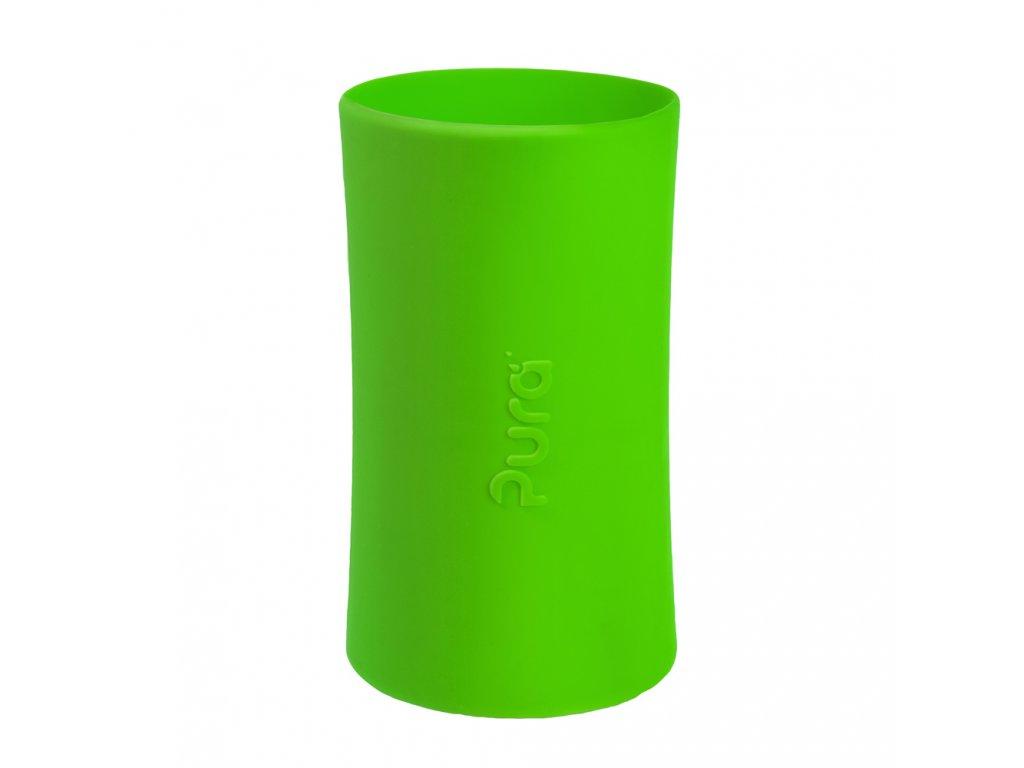 Silikonový návlek na Pura® láhev 260ml a 325ml zelený